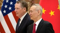 U.S. Trade Representative Robert Lighthizer and Chinese Vice Premier Liu