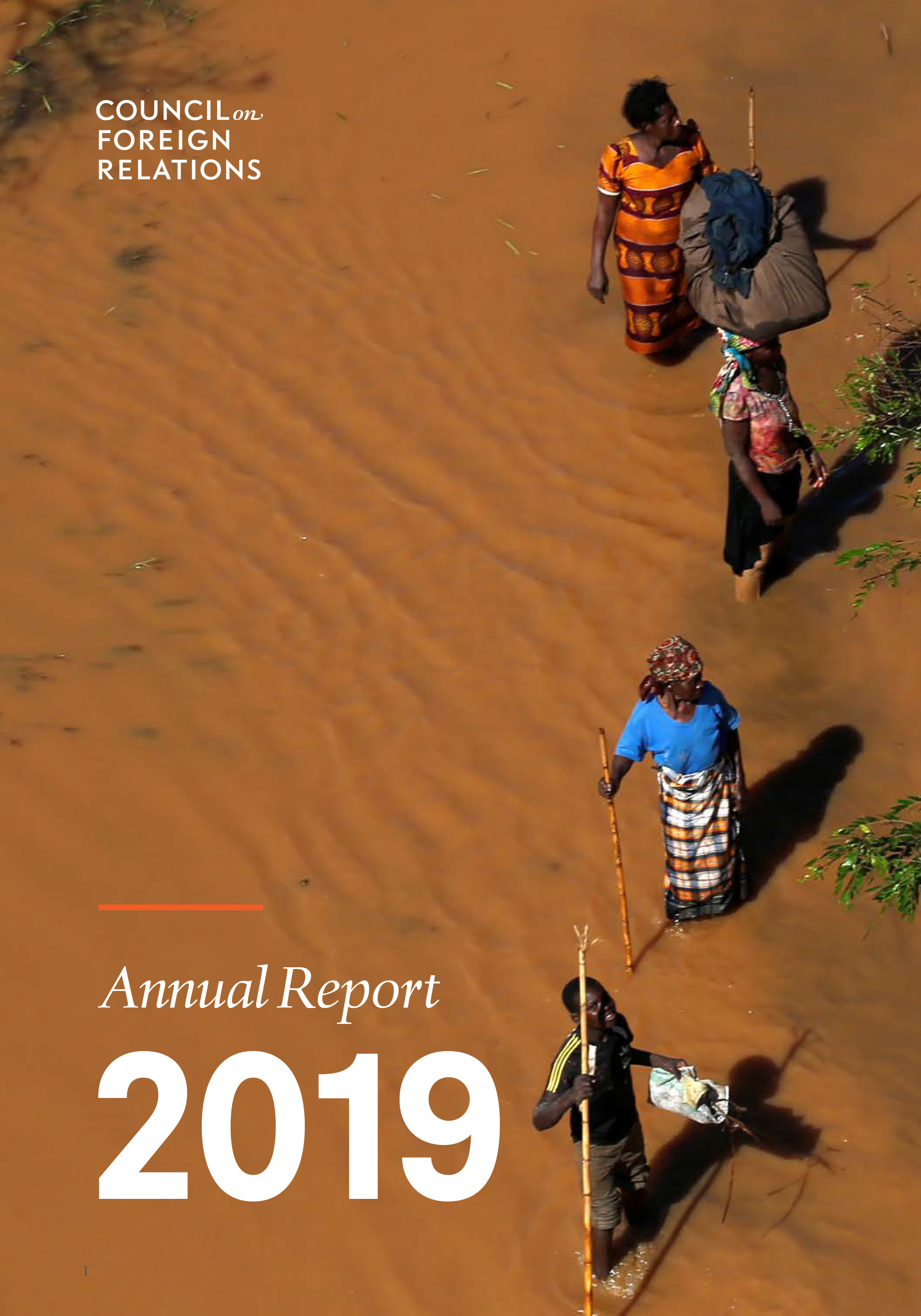 2019 Annual Report of the Council of Foreign Relations