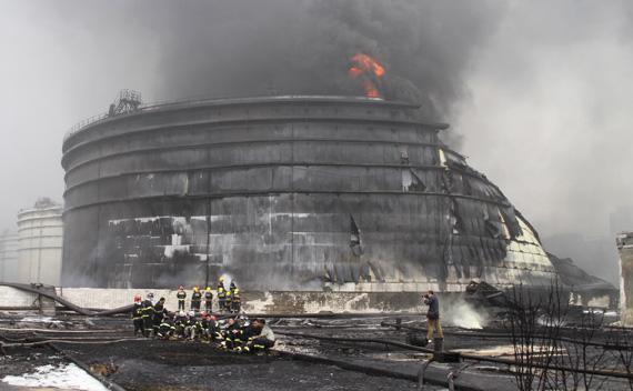 Dalian Oil Blast