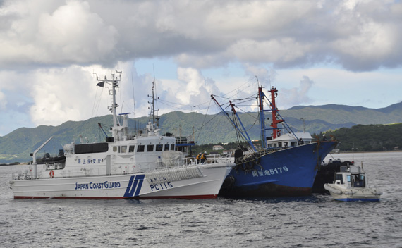 Chinese Fishing Boat Sets Off Sino-Japanese Conflict
