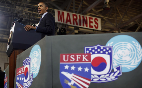 Obama in Seoul: Underscoring the Sino-U.S. Gap on North Korea