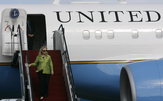 U.S. Secretary of State Clinton will be the first American Secretary of State to travel to Burma in over half a century.