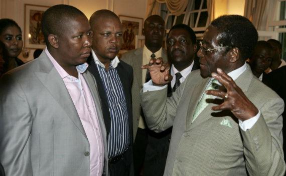 South Africa: Was Julius Malema in ZANU-PF's Pocket?
