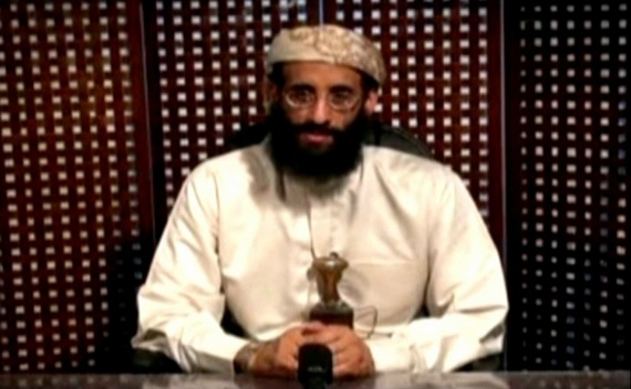 Anwar al-Awlaki, a U.S.-born cleric linked to al Qaeda's Yemen-based wing, gives a religious lecture in an unknown location on September 30, 2011 (Ho New/Courtesy Reuters)