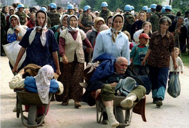 bosnia conflict war refugees