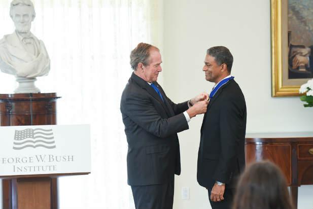 President Bush Medal Freedom Oscar Biscet