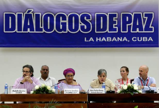 Women cuba colombia peace