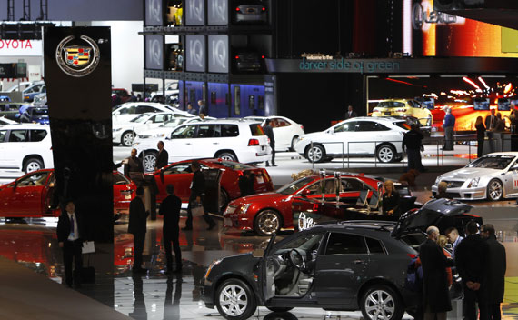 The North American International Auto show in Detroit.