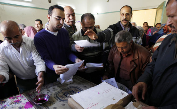 Egyptian Politics: Back to the Future
