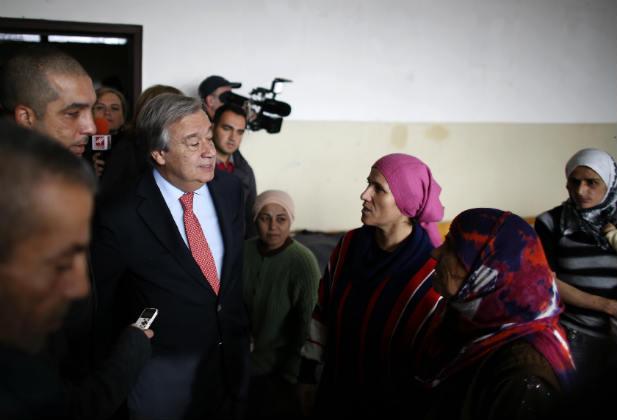 Guterres UN United Nations Gender Syria