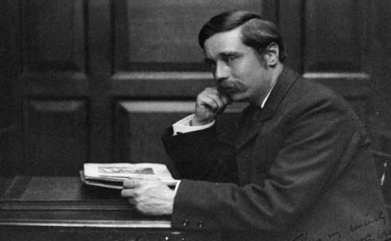 H.G. Wells in 1980.