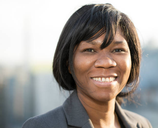 Pamela Bwalya, CEO of MCA-Zambia. (Photo courtesy of MCC)