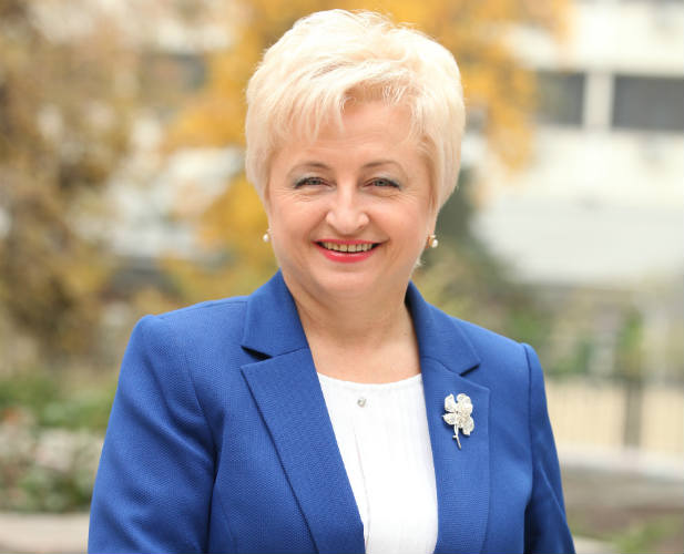 Valentina Badrajan, former CEO of MCA-Moldova. (Photo courtesy of Valentina Badrajan)