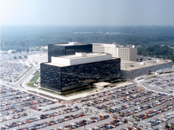 National Security Agency Headquarters at Fort Meade, Maryland.