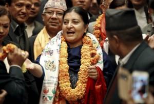 Nepal-woman-president-parliament