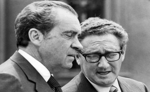 President Richard Nixon and Secretary of State Henry A. Kissinger