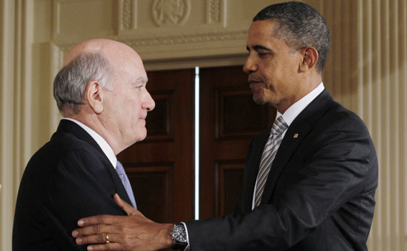 President Barack Obama introduces William Daley as the new White House Chief of Staff