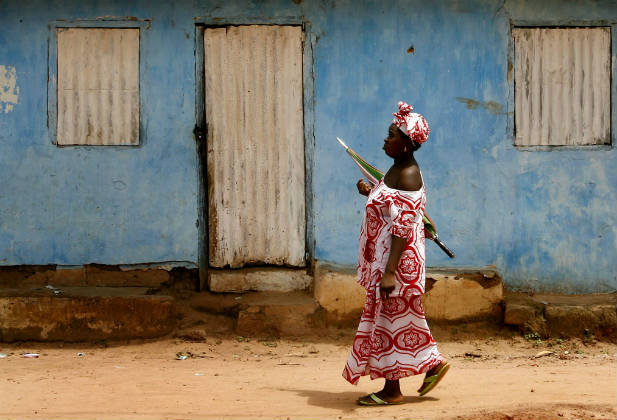 woman gambia child marriage