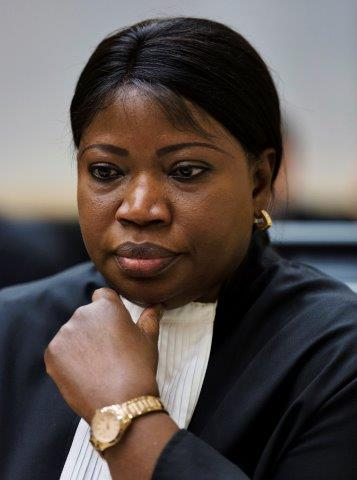 Prosecutor of the International Criminal Court (ICC) Fatou Bensouda is seen at the confirmation of charges hearing in former Ivory Coast President Laurent Gbagbo's pre-trial at the International Criminal Court in The Hague February 19, 2013. Gbagbo is charged with crimes against humanity committed during the 2011 civil war sparked by his refusal to accept the election victory of rival Alassane Ouattara. (Michael Kooren/ Courtesy: Reuters)