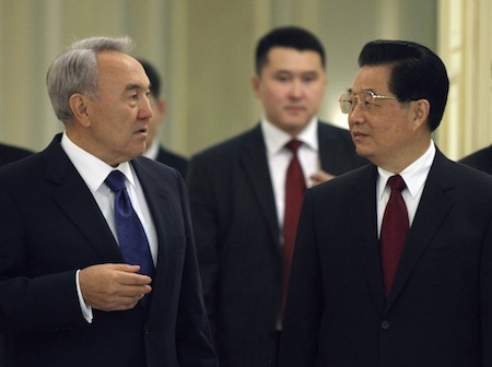 China's Big Play in Central Asia