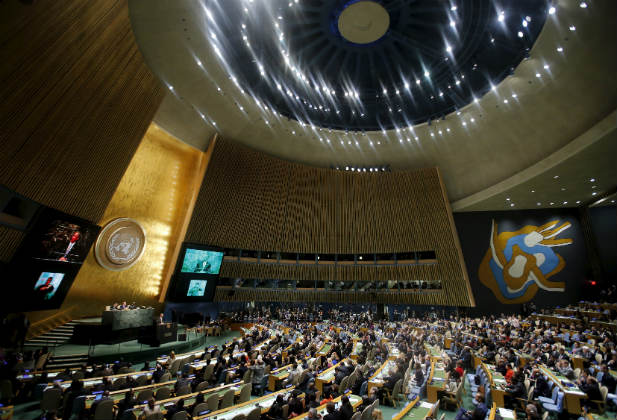 UN General Assembly obama sustainable SDGs