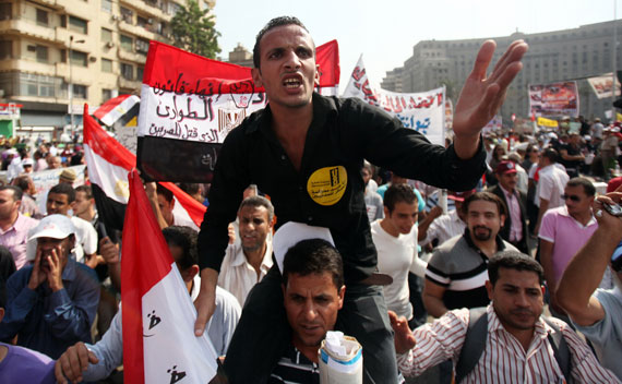 Weekend Reading: Jeff Spicoli in Tahrir, Brothers vs. Officers, and Revolutionary Accomplishments