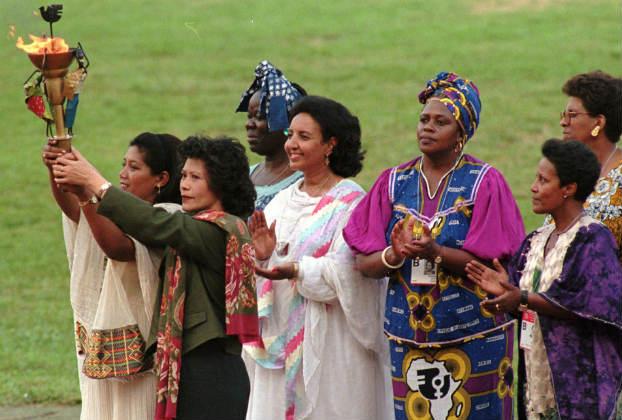 Women beijing peace