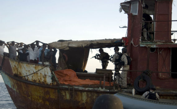 Fighting Somalia Piracy Onshore and Off