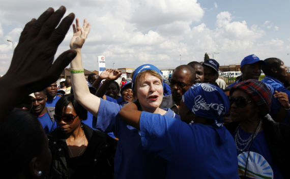 South Africa:  Opposition Makes Unemployment a Political Issue