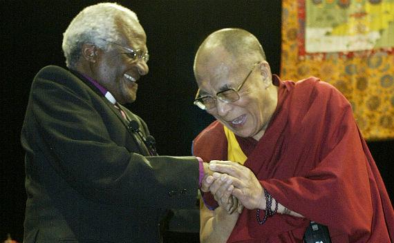 Dalai Lama Visa Issues for Desmond Tutu's Eightieth?