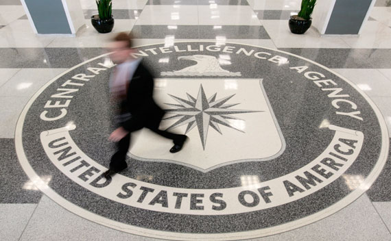 The lobby of the CIA Headquarters Building in McLean, Virginia (Larry Downing/Courtesy Reuters)