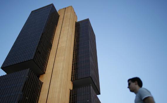 The headquarters of Brazil's central bank in Brasilia. (Ueslei Marcelino/courtesy Reuters)