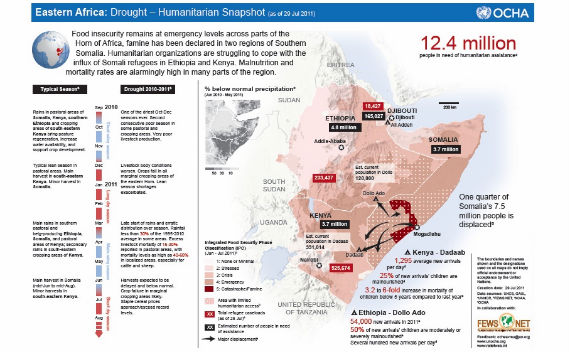 Somalia Famine Finally Captures the News Cycle