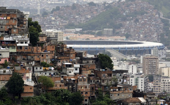 Plans for a $340 million overhaul of Rio de Janeiro's iconic Maracana stadium are among those most behind schedule for the World Cup, yet to be bid out to construction companies (Sergio Moraes / Courtesy Reuters).