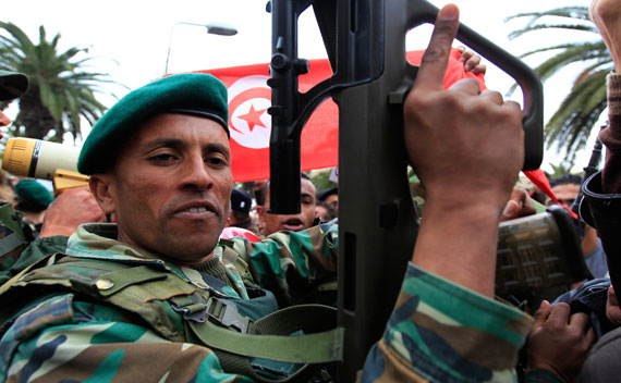 The Calculations of Tunisia's Military