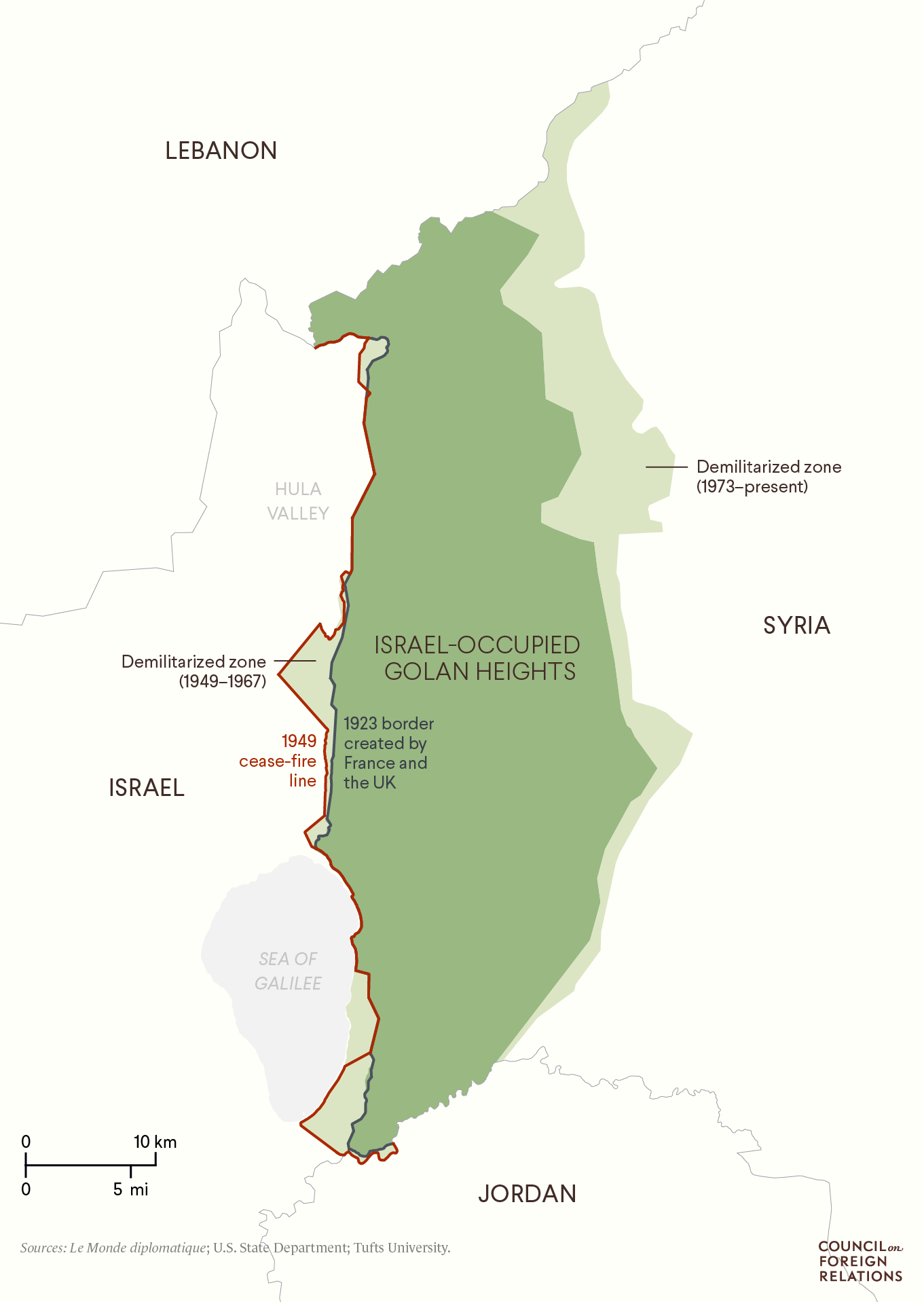 Israel-Occupied Golan Heights
