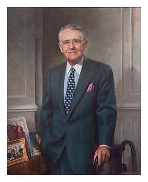 Portrait of Peter G. Peterson