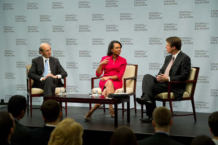 Task Force Co-Chairs Joel I. Klein and Condoleezza Rice