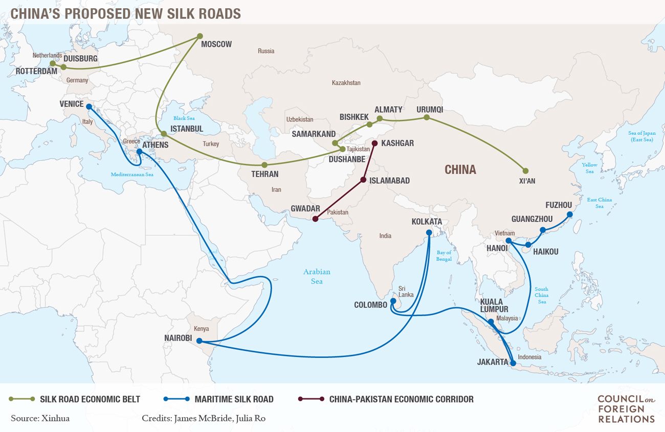 Building the New Silk Road | Council on Foreign Relations