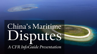 InfoGuide: China's Maritime Disputes