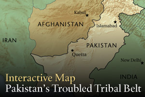 Interactive Map: Pakistan's Troubled Tribal Belt