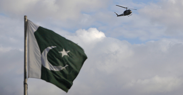 Pakistan military helicopter