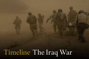Timeline: The Iraq War