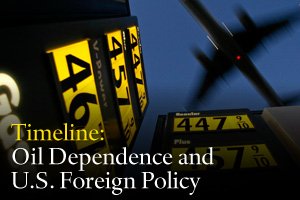 Timeline: Oil Dependence and U.S. Foreign Policy