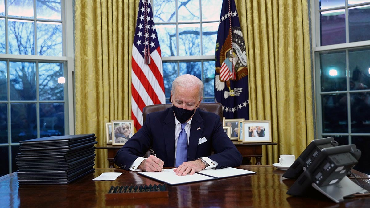 Biden's First Foreign Policy Move: Reentering International Agreements
