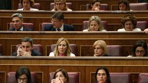 Deputies attend the first session of parliament following a general election in Madrid, Spain, May 21, 2019.