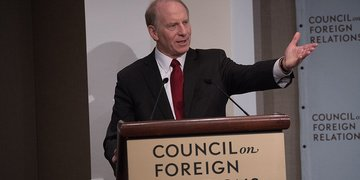 Richard N. Haass giving opening remarks